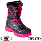 2018 FXR XCross Boot Womens Black Fuchsia Snowmobile Boots 7 8 9 10 11 Snocross