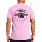 US Army Eagle Adult's T-shirt Stars and ARMY on the back Tee for Men - 1303B