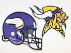 NFL Minnesota Vikings Embroidered  Iron-on Patch FREE SHI-US Made
