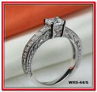2.05 CTW PRINCESS CUT 925 STERLING SILVER ENGAGEMENT RING WEDDING RING SR-44-BLH