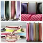 Twin, Multi Coloured, Solid & Varigated Stripe  Ribbon ~ 1 or 3 metres