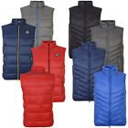 Crosshatch Mens Awesleeve Or Diagonless Designer Gilets Padded Zip Up Bodywarmer