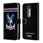 CRYSTAL PALACE FC 2017/ 18 PLAYERS KIT LEATHER BOOK CASE FOR MOTOROLA PHONES 2