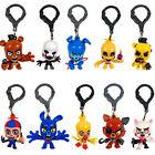 10 PCS Five Nights At Freddy's FNAF Keychain Collector Clips Chica Bonnie Foxy