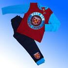 Boys Authentic Official  West Ham FC   #WHUFC Badge Pyjamas Age 4-12 Years