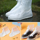 Rain Shoes Protector Cover Boots Flat Overshoes Anti-Slip Waterproof Reusable