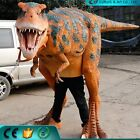 HUGE T-REX DINOSAUR COSTUME LIFE-LIKE ADULT 12' ROARING STOMPING MANY MOVEMENTS