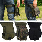 Men's Nylon Tactical Outdoor Camping Thigh Drop Leg Bag Motorcycle Riding Belt