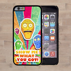 Rick and Morty Cartoon Style Back Hard Case For iPhone iPod Touch Cover (99)