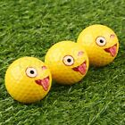 Cute Lovely Emoji Practice Golf Balls Toy Kids Gifts for Outdoor Field Playing