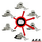 Tire Changer Mount Demount Head Plastic Inserts Fits Many Brands 10pc