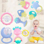 10PCS/Set sale Jingle Ball Ring Training Grasping Ability Rattles Baby Toys New