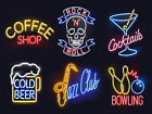 Neon Prints Retro Metal Signs/Plaques Man Cave, Cool Novelty Gift, Home Decor 3