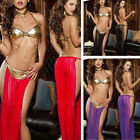 Christmas Halloween Party Womens Exotic Sexy Dance Lingerie Babydoll Nightwear