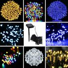 solar powered lights outdoors - 200/100 Outdoor Solar Powered String Light Garden Christmas Party Fairy Lamp