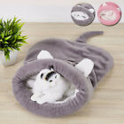 Winter Cozy Pet Cat Dog Nest Bed Sleeping Bag Puppy Soft Cave House Mat Pad sale