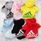 Clothing Shoes - Casual Sweatshirt Winter Adidog Pet Small Dogs Clothes Warm Hoodie Coat Clothing