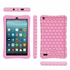 Silicone Case Cover Kids Friendly For All-New Amazon Fire 7 7th Gen Tablet 2017
