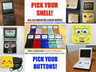 Nintendo Game Boy Advance GBA SP System AGS 101 Brighter Pick Shell  Buttons
