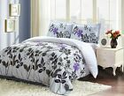 Printed Duvet Cover Set with 2 Pillow Shams Queen Floral Wholesale Lot  image