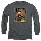 Betty Boop BETTY'S MOTORCYCLES Leather Boots Adult Long Sleeve T-Shirt S-3XL $32.93 USD on eBay