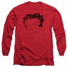Betty Boop WORD HAIR Name Written in Hair Adult Long Sleeve T-Shirt S-3XL $26.78 USD