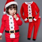 "Vaenait Baby Kids Boys Girls Christmas Clothes Pyjama Set ""Hi Elf"" 12M-7T"