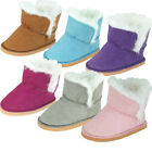 "FAST SHIP! Adorable Winter Sherpa Boots for 18"" American Girl Doll Clothes"