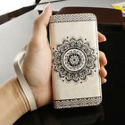 Luxury Leather Flip Card Wallet Phone Case Cover Stand for iPhone X 6S 7 8 Plus