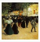 "LOUIS ABEL TRUCHET ""La Fete Foraine"" Paris PRINT new various SIZES available"