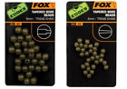 Fox Edges Tapered Bore Beads - 30 per pack - All Sizes Available