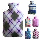 2000 ml Knitted Hot Water Bottle Bag Cover Cute Liter Cloth Large Size Household