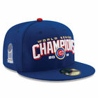 New Era Chicago Cubs Royal 2016 World Series Champions 59FIFTY Fitted Hat - MLB