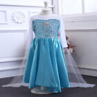 3-8 Princess Queen Dress up Costume Christmas Ball Gown Toddler Child Girl