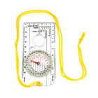 Magnifying Compass Ruler Scale Scout Hiking Camping Boating Orienteering Map