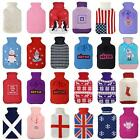 Large Natural Rubber Hot Water Bottle With Gorgeous Knitted Covers Great Gifts
