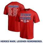 Chicago Cubs Red 2016 World Series Champions Legends T-Shirt