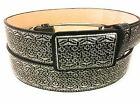 MENS WESTERN BELT. CINTO CHARRO. LEATHER BELT. CINTO BORDADO. CINTO VAQUERO.