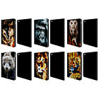 HEAD CASE DESIGNS WILDFIRE LEATHER BOOK WALLET CASE COVER FOR APPLE iPAD