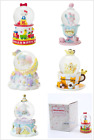 2017 SANRIO KITTY/ MELODY/POM/TWIN STAR/CINAMOROLL CHRISTMAS SNOWGLOBE DOME (S)