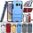 Shockproof Hybrid Rugged Rubber Stand Armor Case For Samsung Galaxy S7 / S7 Edge