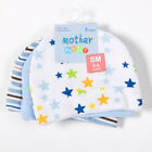 Mother Nest 3pcs/lot Baby Hats Pink/Blue Star Printed Baby Hats amp Caps