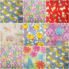 100% Polyester  Fleece Print Fabric Solids 60 W Sold By The Yard Warm And Cozy