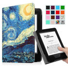 Book Style PU Leather Folio Case Cover Sleep/Wake for Amazon Kindle Paperwhite