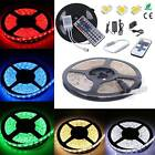 1M-10M SMD 3528 5050 5630 RGB 300LED Strip Light Flexible IR Remote Power Supply
