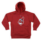 MLB Youth Cleveland Indians FLC Baseball Team Logo Pullover Hoodie on Ebay
