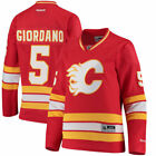 Reebok Mark Giordano Calgary Flames Womens Red Home Premier Player Jersey