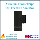 "Vitreous Enamelled Flue Pipe 4"", 5"" and 6"" - Stove Pipe - Multi Fuel Stoves"