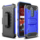 For ZTE Blade Spark Z971/Grand X 4 Shockproof TPU Phone Case With Kickstand Clip