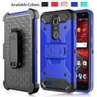 Внешний вид - For ZTE Blade Spark Z971/Grand X 4 Shockproof TPU Phone Case With Kickstand Clip